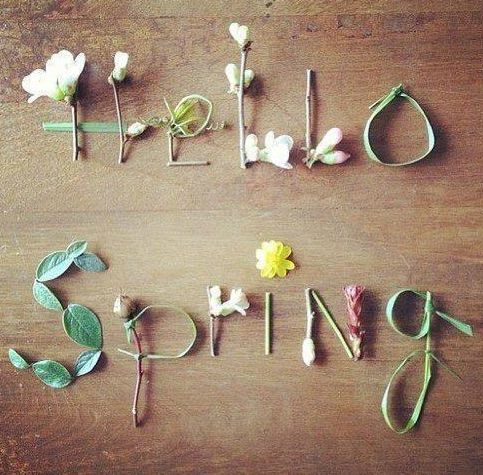 Hello Spring, here we are!